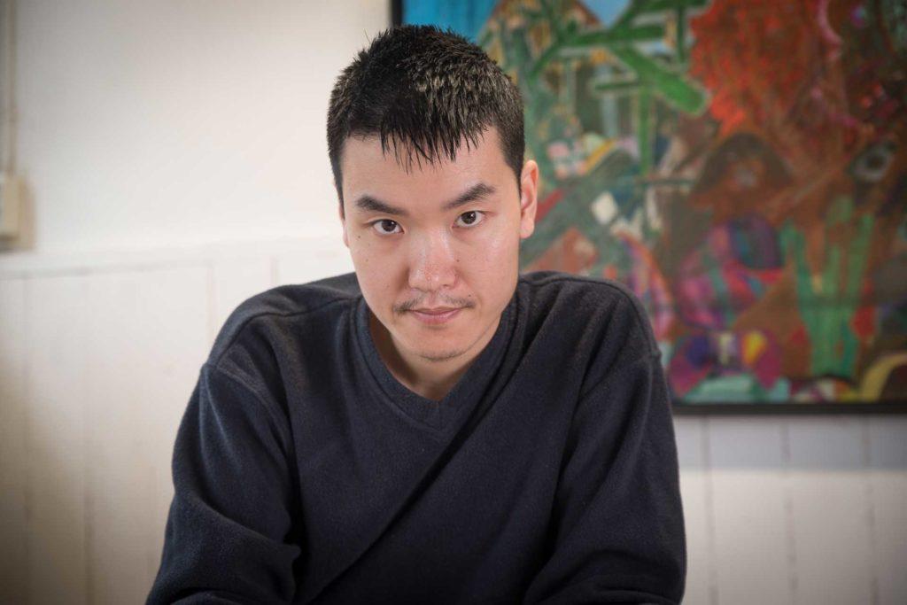 Kunstenaar Karhang Mui De Kaai Goes