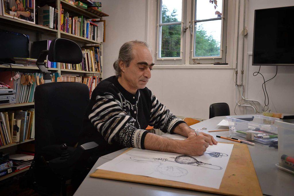 Kunstenaar Mohamad Abo Zarraa De Kaai Goes